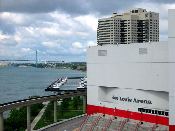 Joe Louis Arena - Detroit, MI - États-Unis
