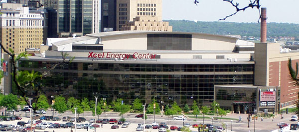 Xcel Energy Center - Saint Paul, MN - Etats-Unis