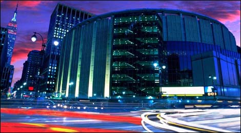 Madison Square Garden - New York, NY - États-Unis