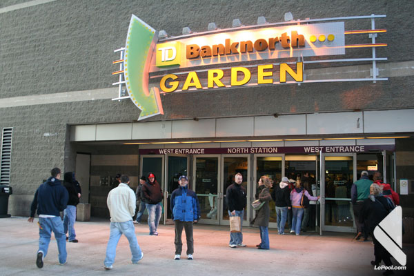 TD Banknorth Garden - Boston - Etats-Unis